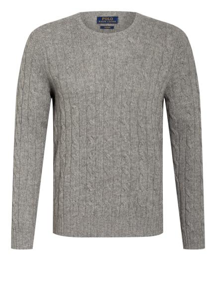 POLO RALPH LAUREN Cashmere-Pullover, Farbe: HELLGRAU (Bild 1)