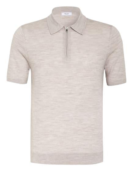REISS Strick-Poloshirt MAXWELL, Farbe: GRAU MELIERT (Bild 1)