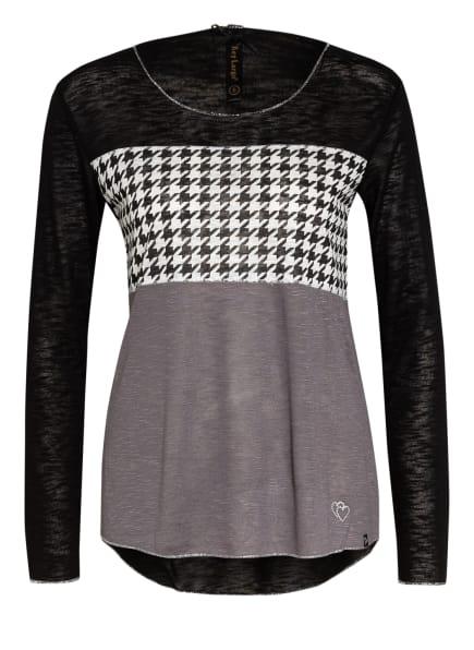 KEY LARGO Pullover EGG, Farbe: SCHWARZ/ WEISS/ TAUPE (Bild 1)