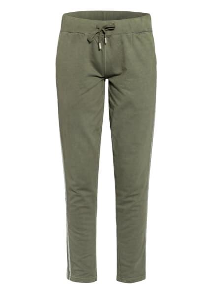 KEY LARGO Sweatpants mit Galonstreifen , Farbe: OLIV (Bild 1)