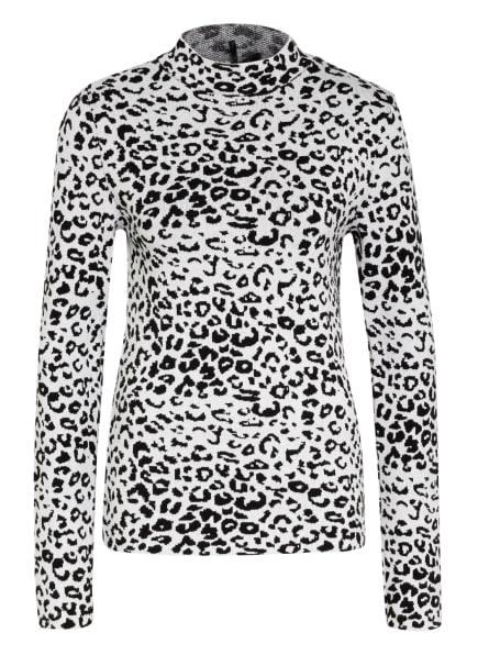 KEY LARGO Pullover BILLY, Farbe: WEISS/ SCHWARZ (Bild 1)