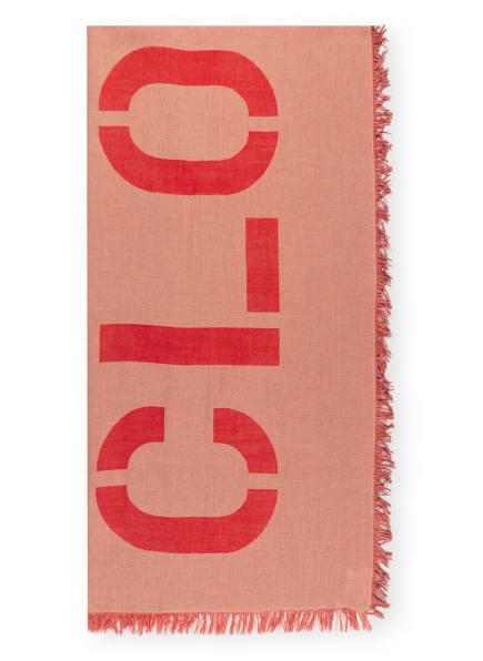 CLOSED Schal, Farbe: ROT/ BEIGE (Bild 1)