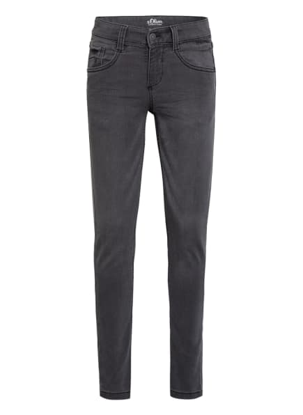 s.Oliver RED Jeans Super Slim Fit, Farbe: GRAU (Bild 1)