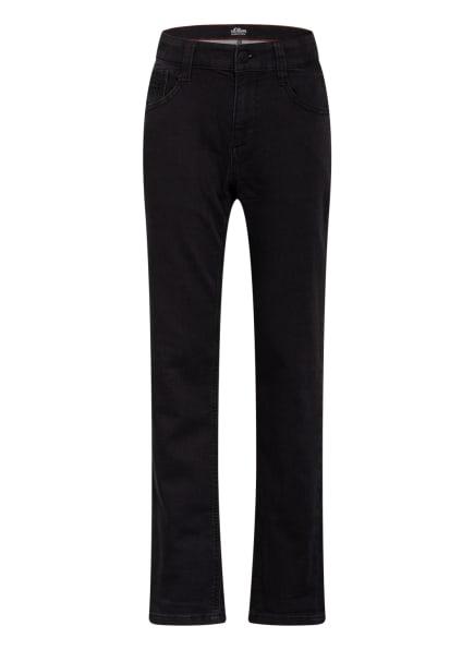s.Oliver RED Jeans SEATTLE Regular Fit, Farbe: 99Z8 black stre (Bild 1)