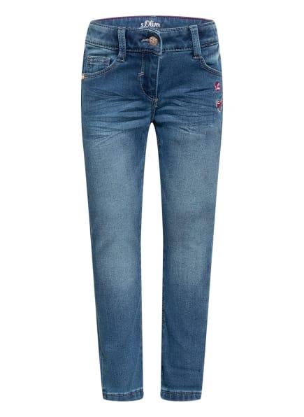 s.Oliver Jeans Slim Fit, Farbe: 56Z4 blue stret (Bild 1)