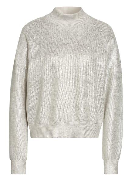 BOSS Pullover FEBONEE, Farbe: CREME/ SILBER (Bild 1)