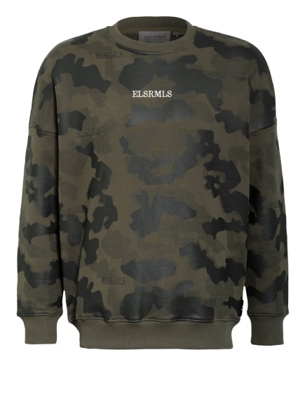 ER ELIAS RUMELIS Sweatshirt RAPHAEL, Farbe: OLIV/ KHAKI (Bild 1)