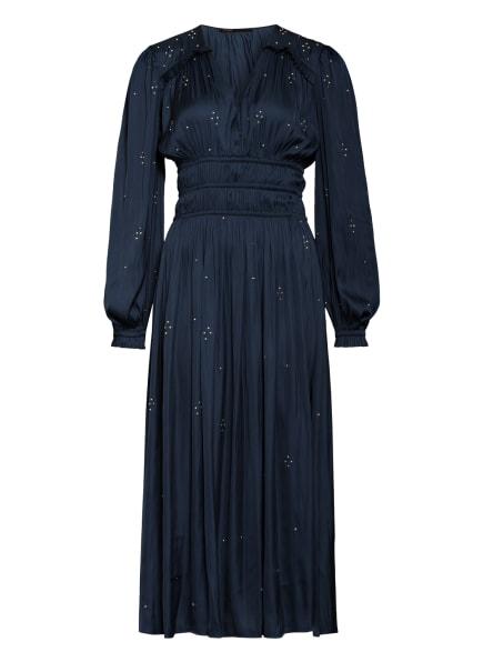 maje Kleid RIANNI mit Schmucksteinbesatz, Farbe: DUNKELBLAU (Bild 1)