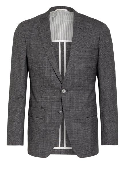 BOSS Anzugsakko HARTLAY Slim Fit, Farbe: DUNKELGRAU/ WEISS (Bild 1)