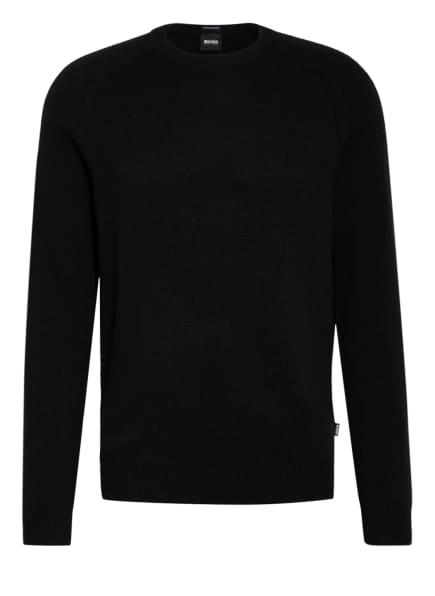 BOSS Cashmere-Pullover DAVIDO, Farbe: SCHWARZ (Bild 1)