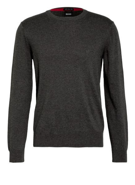 BOSS Pullover PACAS, Farbe: DUNKELGRAU (Bild 1)