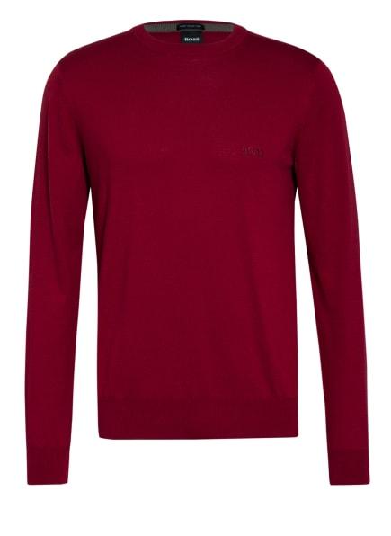 BOSS Pullover PACAS, Farbe: DUNKELROT (Bild 1)
