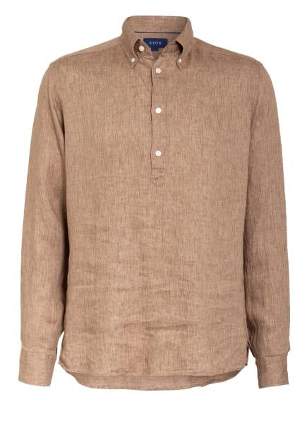 ETON Leinenhemd Relaxed Fit, Farbe: HELLBRAUN MELIERT (Bild 1)
