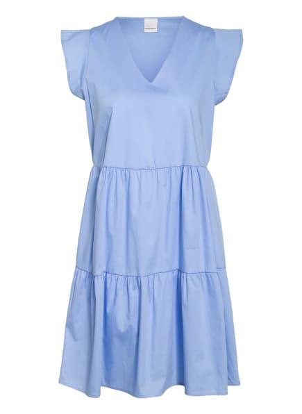 RINASCIMENTO Kleid mit Rüschenbesatz, Farbe: HELLBLAU (Bild 1)