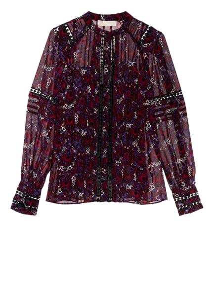 MICHAEL KORS Bluse , Farbe: LILA/ DUNKELROT/ WEISS (Bild 1)