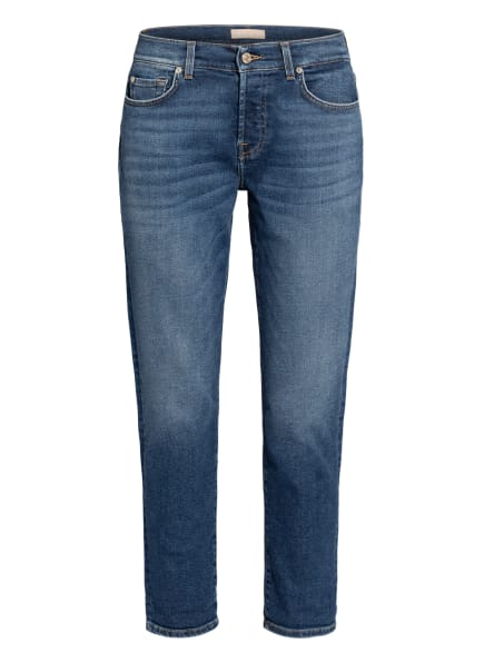 7 for all mankind Skinny Jeans ASHER LUXE VINTAGE , Farbe: PACIFIC GROVE MID BLUE (Bild 1)