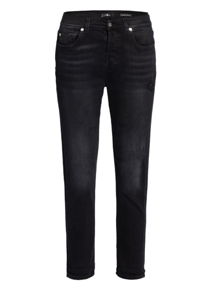7 for all mankind Destroyed Jeans ASHER, Farbe: DISTRESSED BLACK (Bild 1)