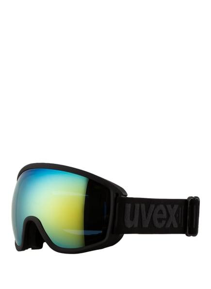 uvex Skibrille TOPIC FM SPHERIC, Farbe: 202 BLACK MAT (Bild 1)