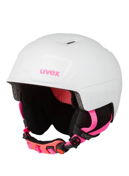 uvex Skihelm HEYYA PRO, Farbe: WEISS/ PINK (Bild 1)