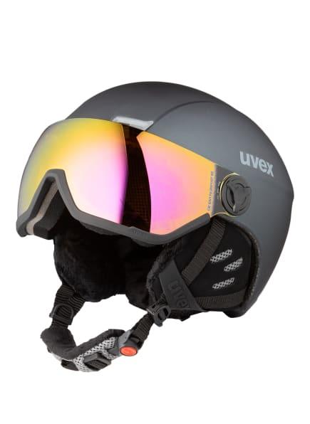 uvex Skihelm HLMT 400 VIZOR, Farbe: SCHWARZ (Bild 1)