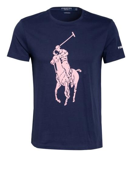 POLO RALPH LAUREN T-Shirt , Farbe: DUNKELBLAU/ ROSA (Bild 1)