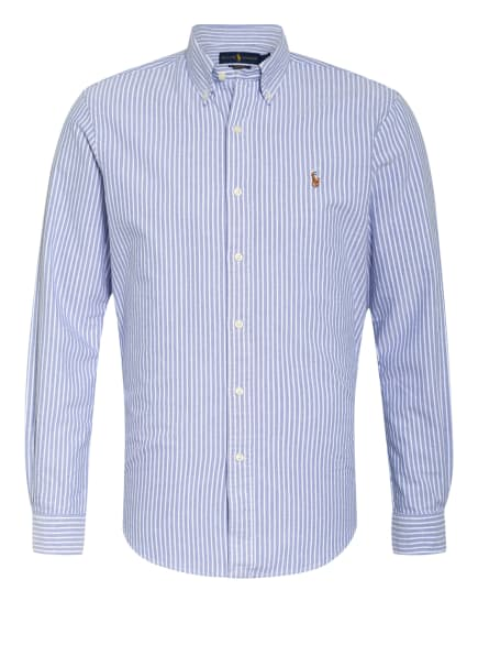 POLO RALPH LAUREN Hemd Custom Fit, Farbe: BLAU/ WEISS (Bild 1)