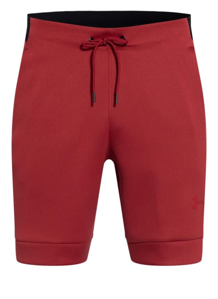 UNDER ARMOUR Trainingsshorts UA/MOVE, Farbe: ROT/ SCHWARZ (Bild 1)