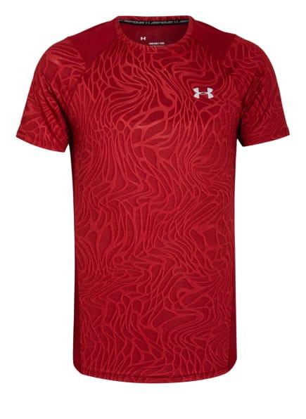 UNDER ARMOUR T-Shirt, Farbe: DUNKELROT (Bild 1)
