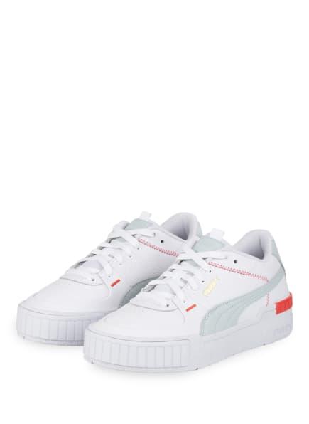 PUMA Plateau-Sneaker CALI SPORT, Farbe: WEISS/ HELLGRAU (Bild 1)