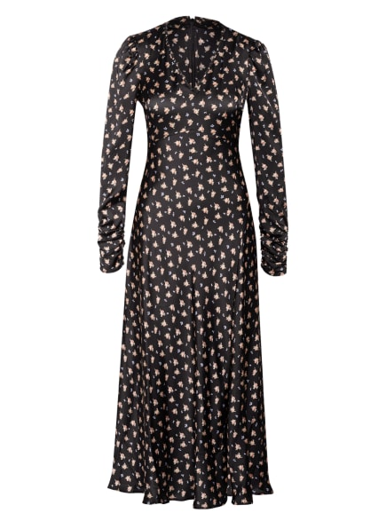 maje Kleid RIAVA, Farbe: SCHWARZ/ HELLBLAU/ HELLROT (Bild 1)