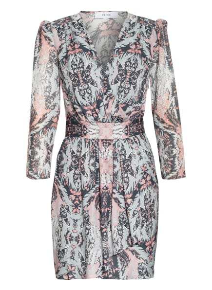 REISS Kleid LACEY, Farbe: HELLGRAU/ NUDE/ PETROL (Bild 1)