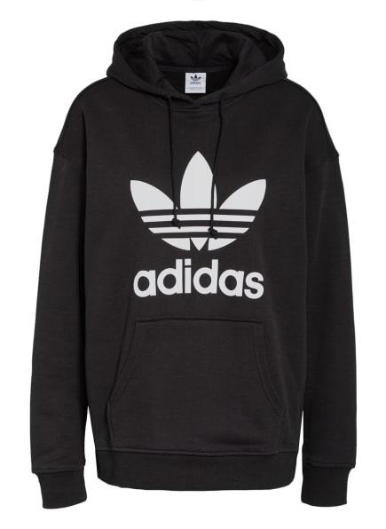adidas Originals Hoodie ADICOLOR TREFOIL, Farbe: SCHWARZ (Bild 1)