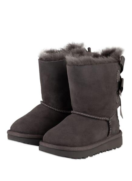 UGG Boots BAILEY BOW II, Farbe: GRAU (Bild 1)