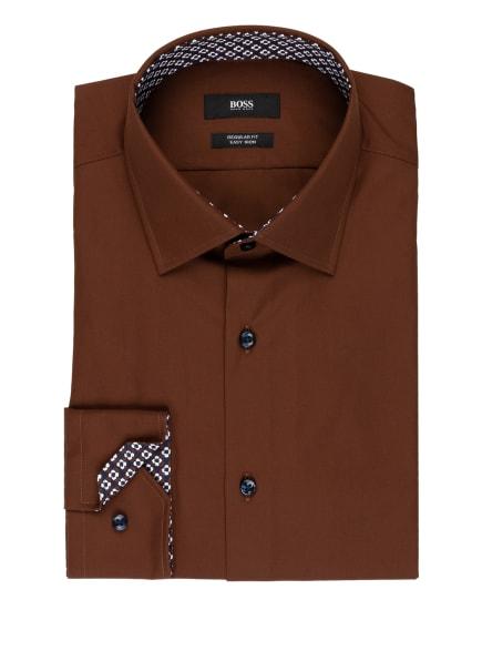 BOSS Hemd GORAS Regular Fit, Farbe: BRAUN (Bild 1)