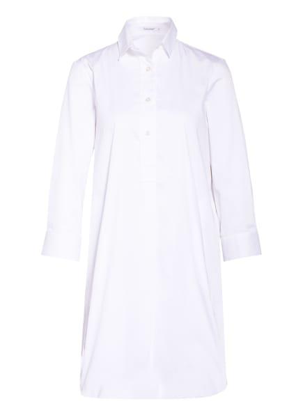 Soluzione Kleid mit 3/4-Arm, Farbe: WEISS (Bild 1)