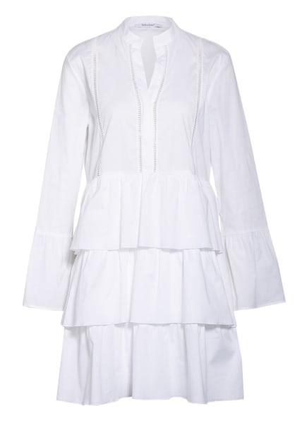 Soluzione Kleid mit Volants, Farbe: WEISS (Bild 1)