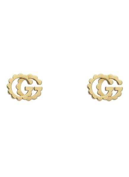 GUCCI Ohrringe GG RUNNING, Farbe: GOLD (Bild 1)