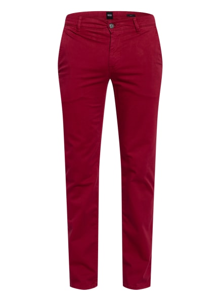 BOSS Chino SCHINO Slim Fit , Farbe: DUNKELROT (Bild 1)