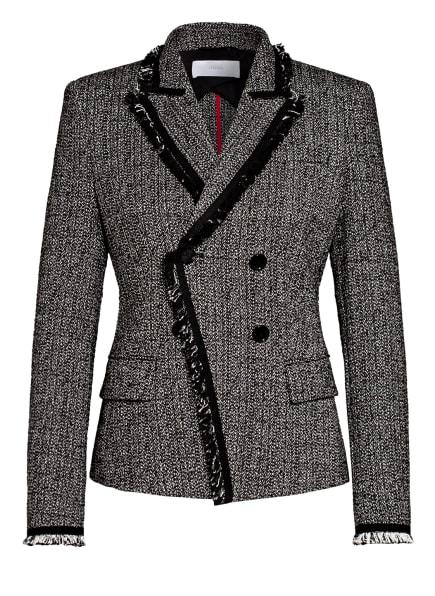 BOSS Tweed-Blazer JEHONA, Farbe: SCHWARZ/ WEISS (Bild 1)