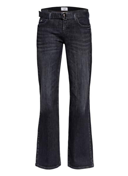 CAMBIO Flared Jeans, Farbe: 5056  black denim (Bild 1)