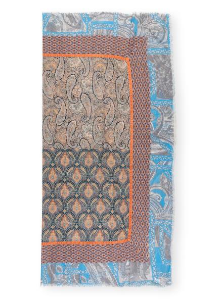 MALA ALISHA Tuch FOLKSY , Farbe: SCHWARZ/ BLAU/ GRAU (Bild 1)