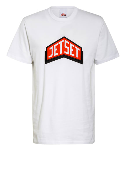 JET SET T-Shirt, Farbe: WEISS (Bild 1)