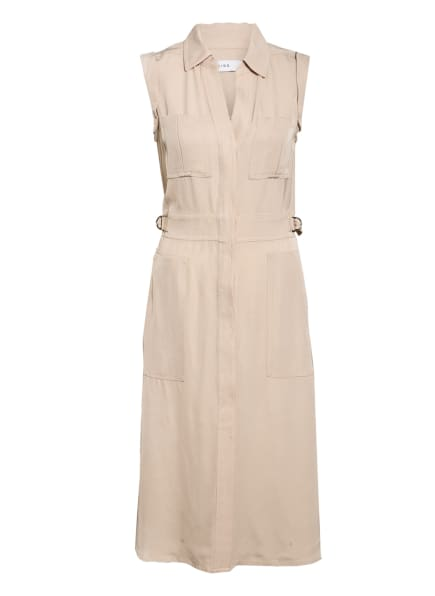 REISS Hemdblusenkleid EFFIE, Farbe: BEIGE (Bild 1)