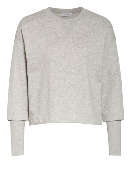 REISS Sweatshirt ABELA, Farbe: HELLGRAU/ WEISS (Bild 1)