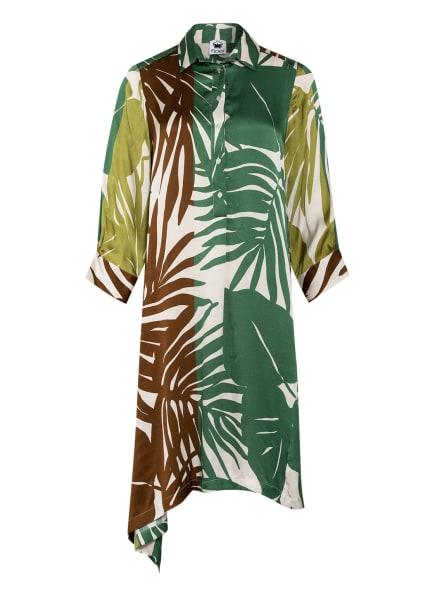 floer Kleid, Farbe: CREME/ GRÜN/ BRAUN (Bild 1)