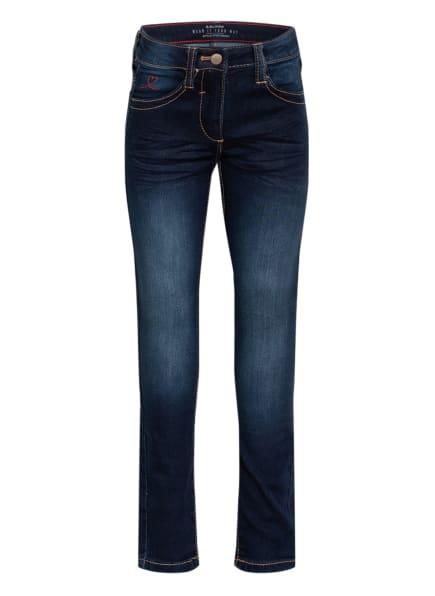 s.Oliver RED Jeans KATHY Slim Fit, Farbe: DUNKELBLAU (Bild 1)