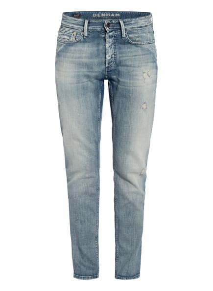 DENHAM Destroyed Jeans RAZOR Slim Fit, Farbe: 6 BLUE (Bild 1)