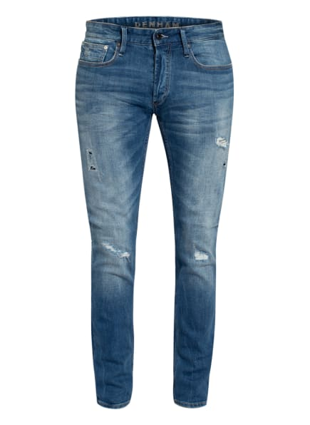 DENHAM Destroyed Jeans BOLT Skinny Fit, Farbe: 6 BLUE (Bild 1)