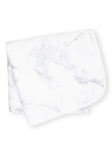 Graccioza Handtuch MABEL, Farbe: WEISS/ GRAU (Bild 1)