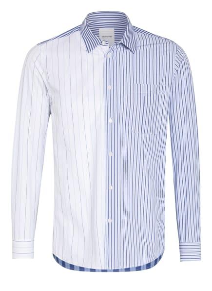 WOOD WOOD Hemd TIMOTHY Regular Fit, Farbe: BLAU/ WEISS (Bild 1)